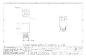Technical drawing:  R-SA-4-20