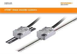 Installation guide:  ATOM linear encoder system