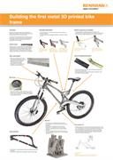 Poster:  Building the first metal 3D printed bike frame - collaborative project with Empire Cycles