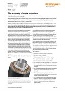 White paper:  The accuracy of angle encoders