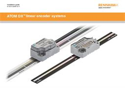 Installation guide:  ATOM DX™ linear encoder systems