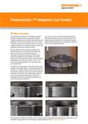 Application note:  Productivity+™ Adaptive Cut Toolkit