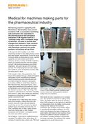 Case study:  TJW - Medical for machines making parts for the pharmaceutical industry
