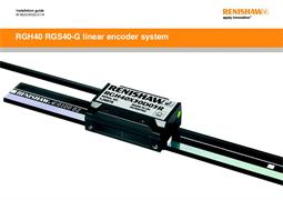 Installation guide: RGH40 RGS40-G linear encoder system