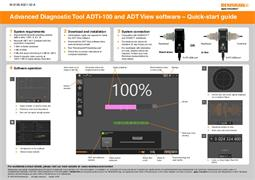 Quick-start guide: Advanced Diagnostic Tool ADTi-100 and ADT View software