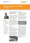 Case study: Making a difference at Renishaw - Tom Noble