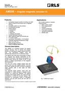 Data sheet: AM256 rotary magnetic encoder IC