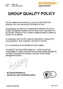 Renishaw Group Quality Policy