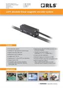 Flyer: LA11 absolute linear encoder system