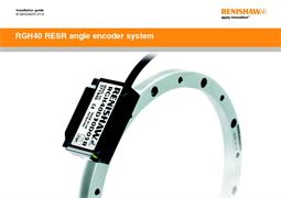 Installation guide:  RGH40 RESR angle encoder system