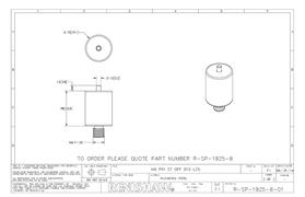 Technical drawing:  R-SP-1925-8