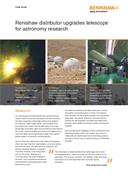 Case study:  Renishaw distributor upgrades telescope for astronomy research