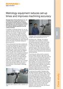 Case study:  Shanghai Yawa - Metrology equipment reduces set-up times and improves machining accuracy