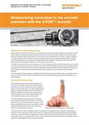 Application note:  Miniaturising innovation in the encoder business with the ATOM™ encoder