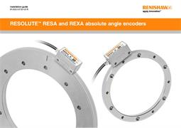 Installation guide: RESOLUTE™ RESA/REXA absolute angle encoder