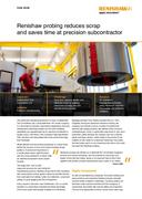 Case study:  Intoco: Renishaw probing reduces scrap and saves time at precision subcontractor