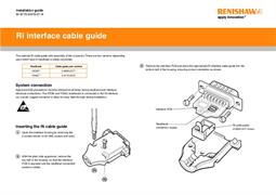Installation guide: Ri interface cable guide
