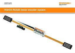 Installation guide: RGH24 RGS20 linear encoder system