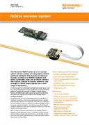Data sheet: RGH34 series encoder system