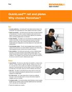 Flyer:  QuickLoad™ rail and plates - Why choose Renishaw? - Inc