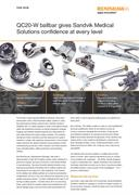 Case study: Sandvik Medical Solutions - QC20-W ballbar gives Sandvik confidence at every level