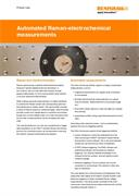 Product note:  Automated Raman electrochemical measurements