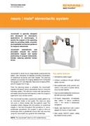 Data sheet: neuromate® stereotactic robot system