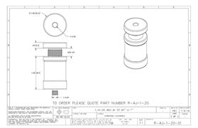 Technical drawing:  R-AJ-1-20