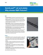 Flyer:  QuickLoad rail and plates - Why choose R&R Fixtures