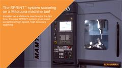 The SPRINT™ machine tool scanning system at the Matsuura UK open house