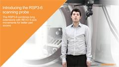 Exhibition video:  RSP3-6 scanning probe - Combining long extensions with REVO 5-axis movements