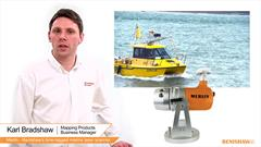 Merlin - Renishaw's time-tagged marine laser scanner
