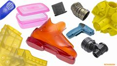 Vacuum casting products and process