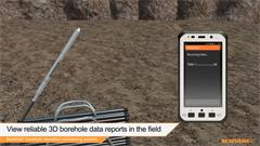 Animation: Boretrak borehole deviation monitoring system