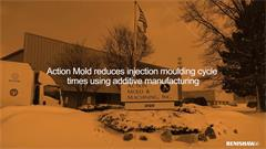 Action Mold reduces injection moulding cycle times using additive manufacturing