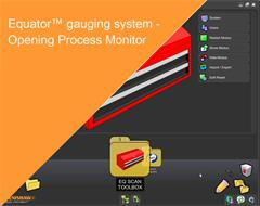 Training module:  Equator gauging system - Opening Process Monitor