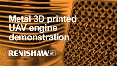 Case study:  Cobra demonstrates additively manufactured UAV engine
