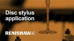 Disc stylus application video
