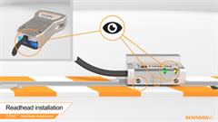 Installation video: How to install the Renishaw TONiC™ super-compact digital encoder readhead