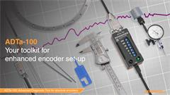 Exhibition video:  Advanced Diagnostic Tool ADTa-100 for absolute encoders