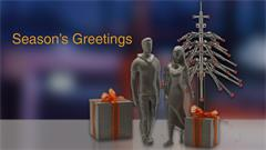 3dprintedpresent - Season's Greetings from Renishaw